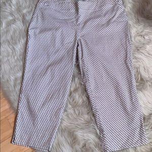 Dalia Tan & White pull on dress pants size 18